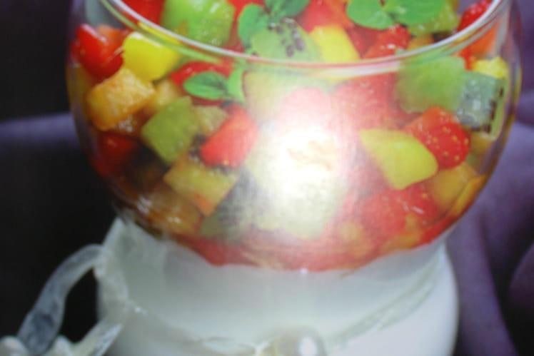 Tartare de fruits