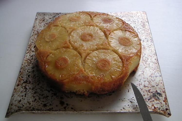Gâteau magique à l'ananas