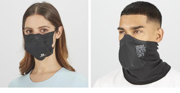 Masque sportif Salomon Covid-19