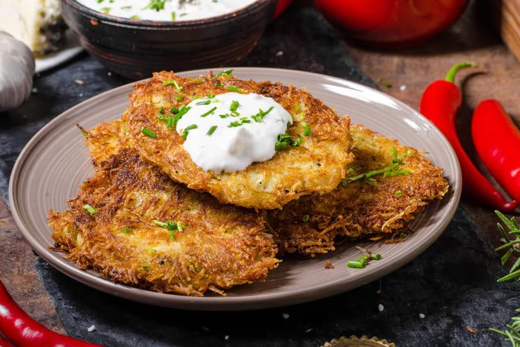 Galettes de pommes de terre croustillantes - Cuisiner les pommes de terre ...