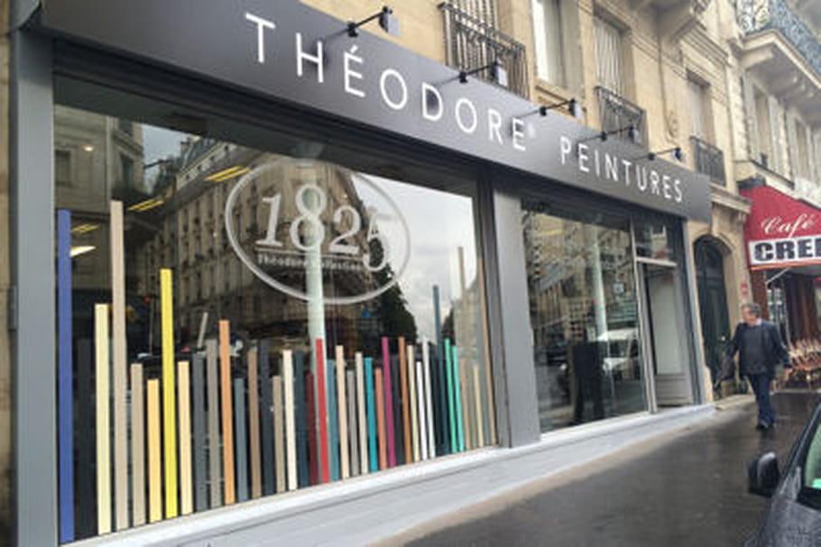 Théodore Peintures ouvre un showroom parisien