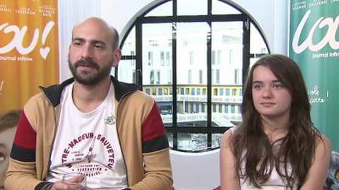 Lou ! Journal Infime : rencontre avec Julien Neel et Lola Lasseron