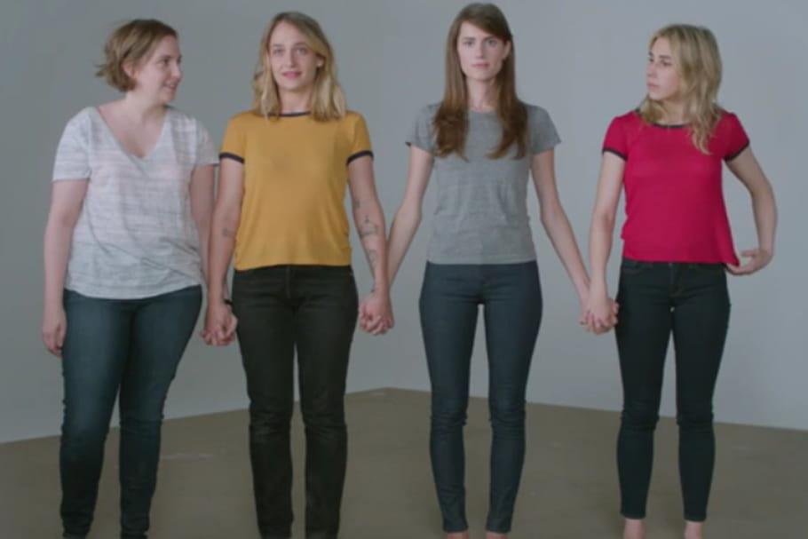 Lena Dunham et les actrices de Girls se mobilisent contre le viol