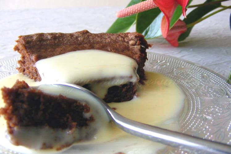 Fondant au chocolat à la crème de marrons