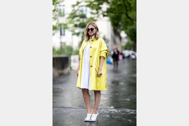 Street looks fashion week haute couture : oversize