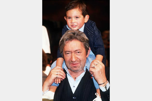 Serge avec son fils Lucien