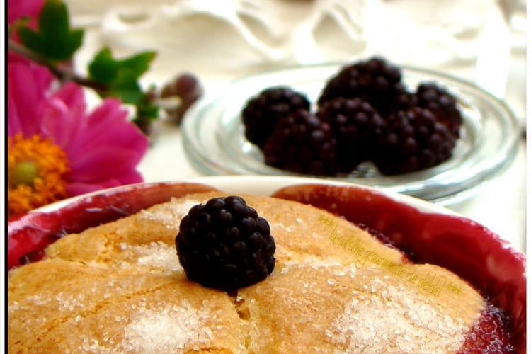 Gâteau Cobbler aux mûres