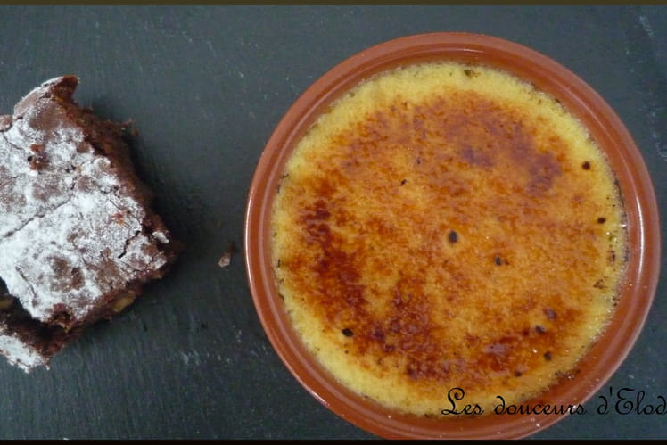 Crème brûlée authentique