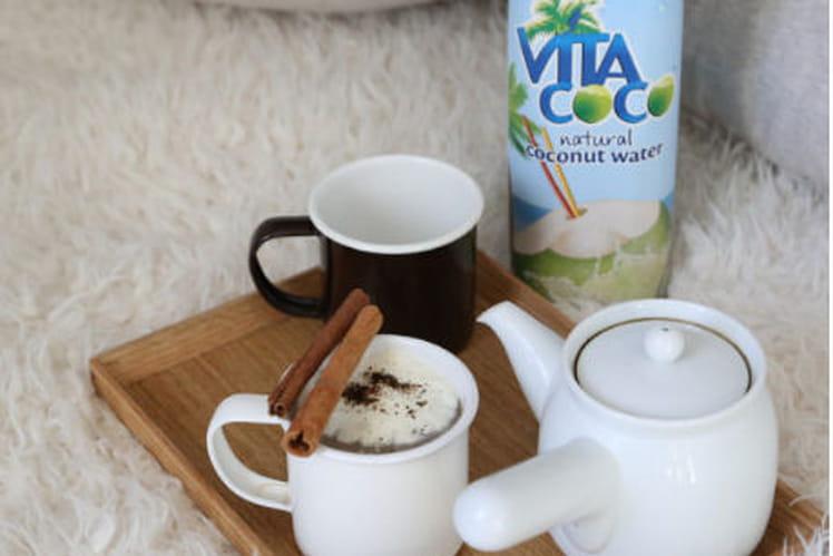 Chai tea latte à la coco