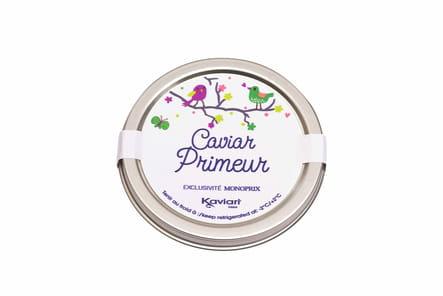 Caviar Primeur de Kaviari chez Monoprix