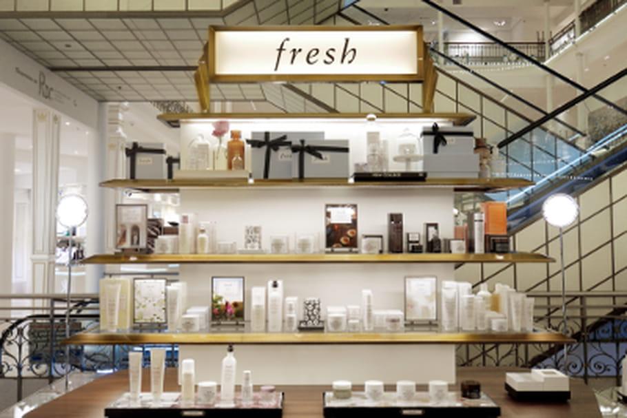 Les cosmétiques Fresh débarquent au Bon Marché