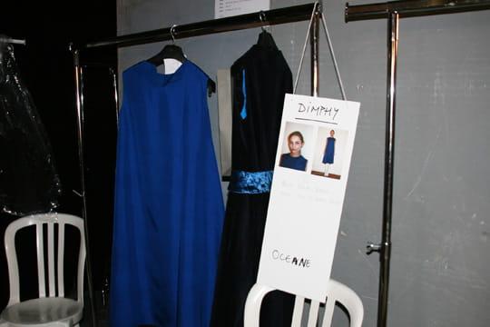 Fashion week prêt-à-porter automne-hiver 2011 : les coulisses du défilé Aganovich 6