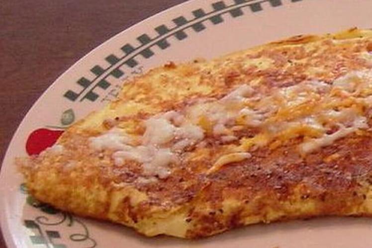 Omelette gratinée aux oignons grelots