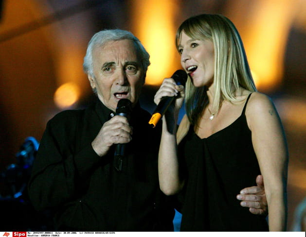 En cœur avec sa fille Katia, en Arménie en 2006