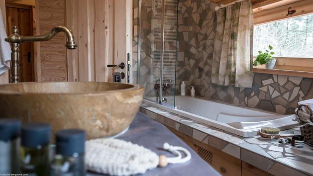 Salle de bain Maison dans les Arbres