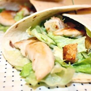 wrap façon salade caesar