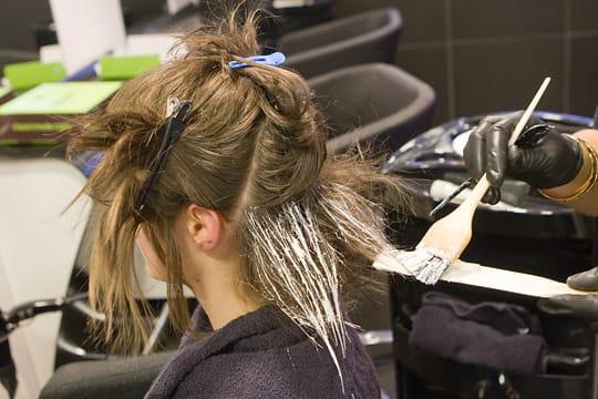 La coloration des cheveux