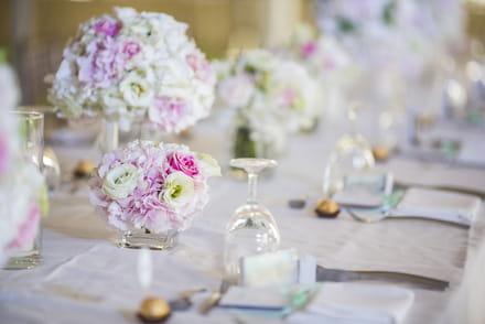 Décoration Mariage : Fleur Et Idée Pour La Déco De Mariage