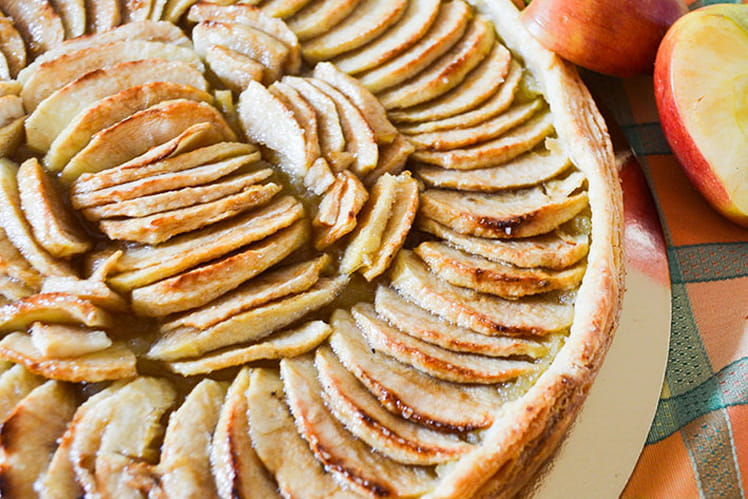 Tarte aux pommes classique