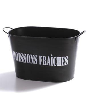 la bassine 'boissons fraîches' de potiron