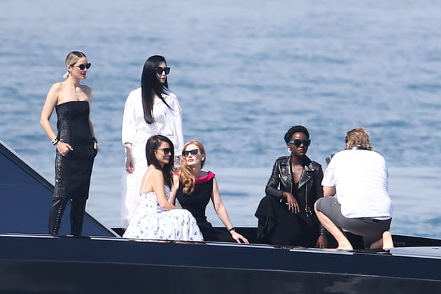 Marion Cotillard, Fan Bingbing, Penélope Cruz, Jessica Chastain et Lupita Nyong'o sont sur un bateau...