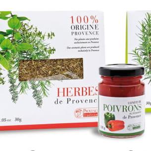 confit de poivron et herbes de provence