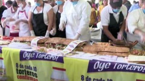 Le plus long sandwich du monde est mexicain