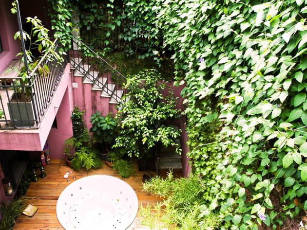 Une terrasse végétale
