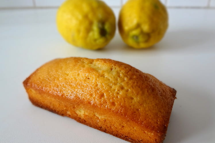Cake au citron version mini