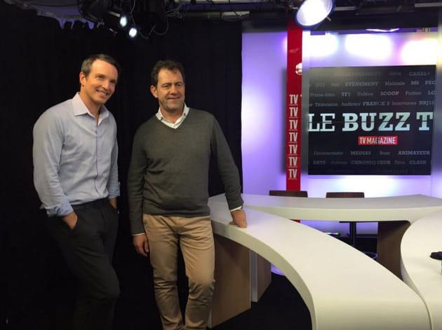 Michel Sarran et Stéphane Rotenberg font le buzz