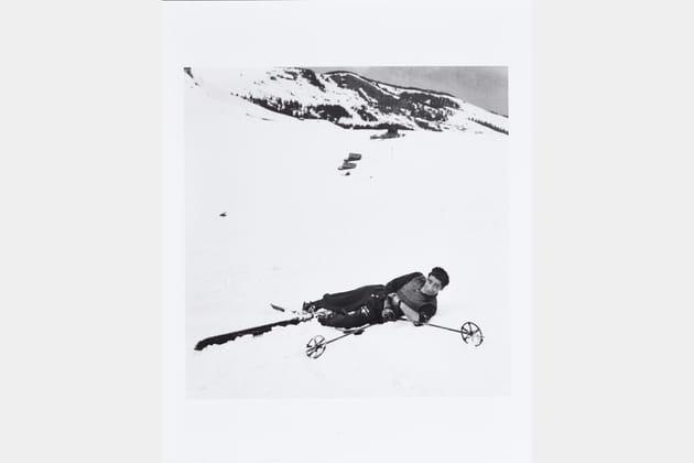 Robert Capa au ski, 1939