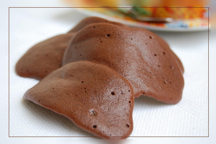 Tuiles chocolatées