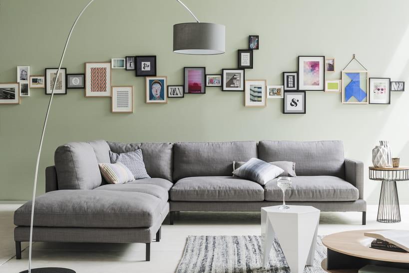18beaux modèles de canapé d'angle pour un salon familial