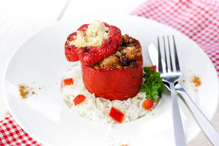 Tomates farcies au paprika