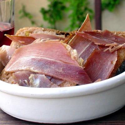 pan tomaquet et jambon serrano