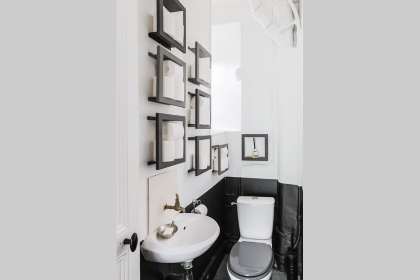 comment transformer ses wc en espace d co. Black Bedroom Furniture Sets. Home Design Ideas