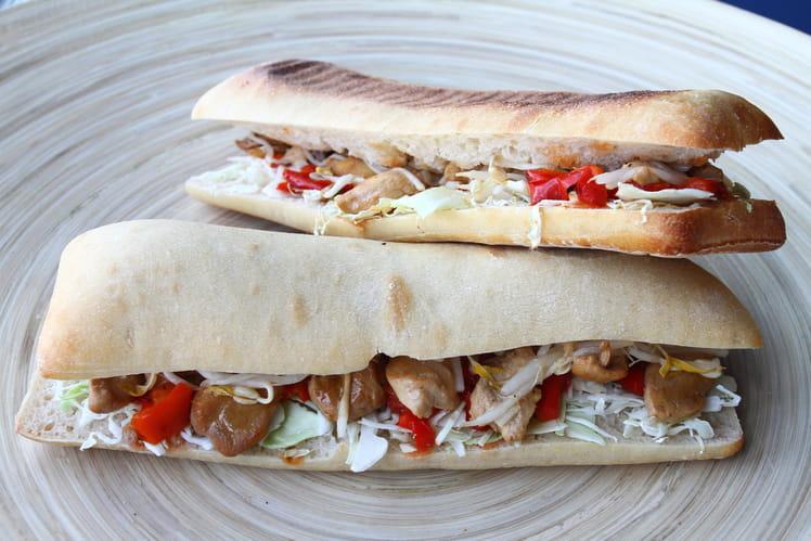 Sandwich Teriyaki