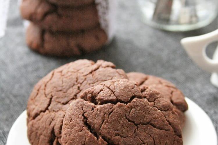 Cookies au chocolat sans gluten, sans lait et sans oeufs