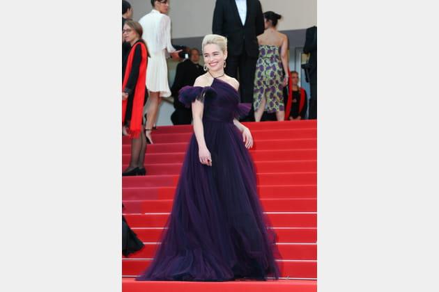 Emilia Clarke en Christian Dior