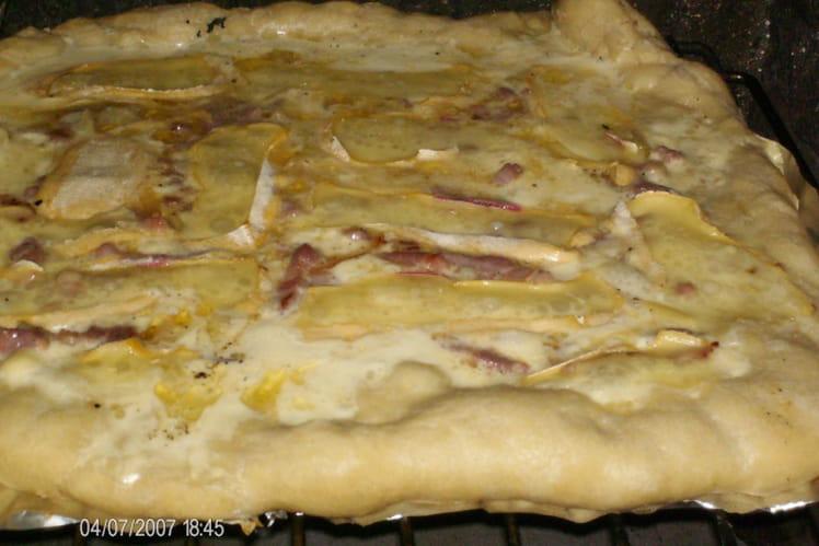 Pizza savoyarde maison