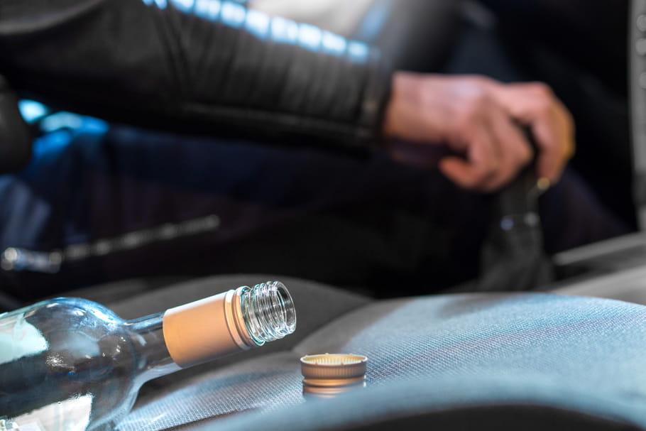 Arrêté ivre au volant après 48bières, 1bouteille de pastis et 1de rosé