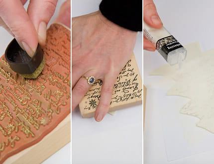 Etape 2 d corer le sapin en carton - Sapin en carton a decorer ...