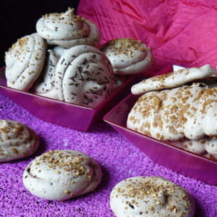 meringues au chocolat