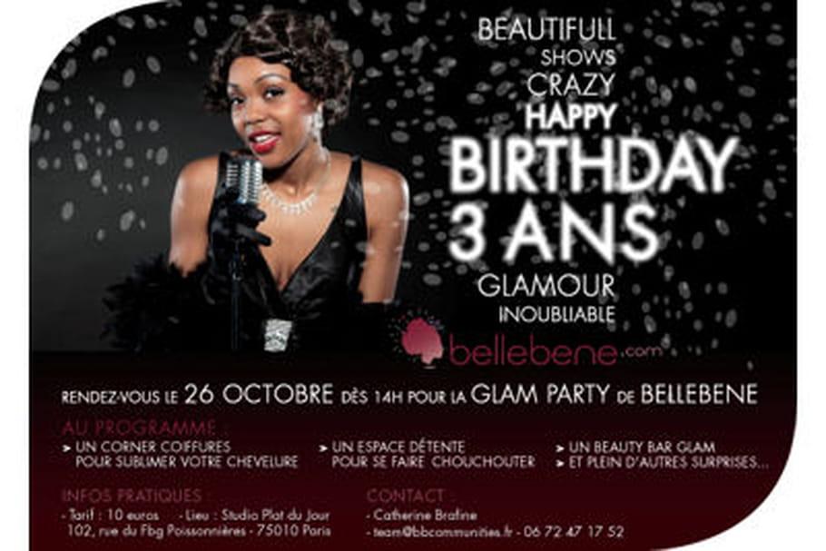 Bellebene organise une Glam Party pour fêter ses 3 ans