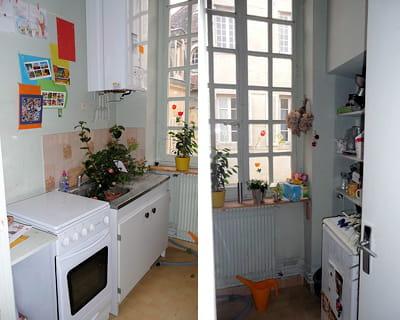Une petite cuisine rendue plus fonctionnelle - Petite cuisine fonctionnelle ...