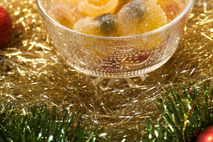 Pâtes de fruits maison fourrées
