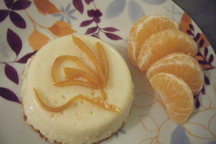 Crème renversée à la clémentine