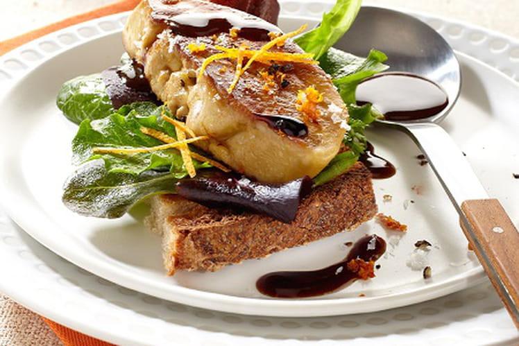 Foie de canard comme à la table d'Amélie