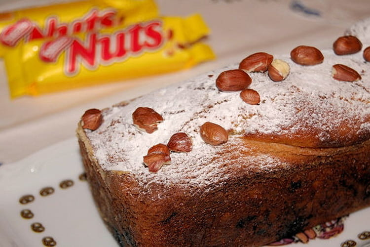 Cake aux barres nuts