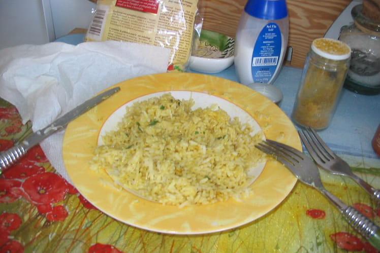 Riz au curry